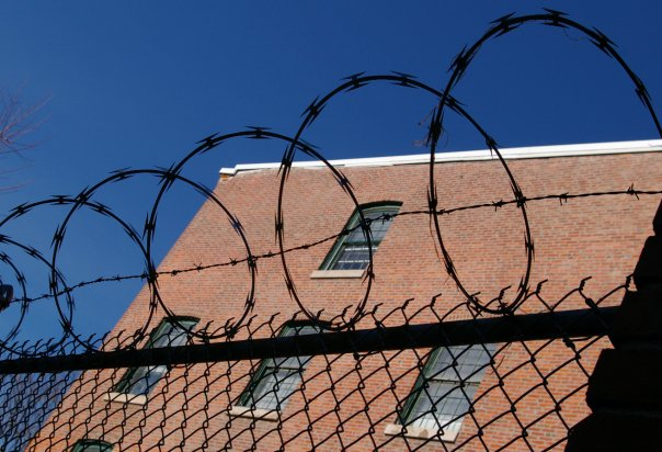 "The ""House"" Equipped With Fence&Razor Wire ---You Won't Get Away"