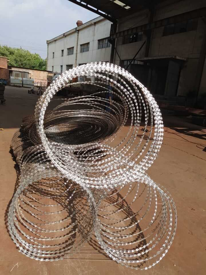 Concertina Razor Wire Is The Trump In Razor Wire