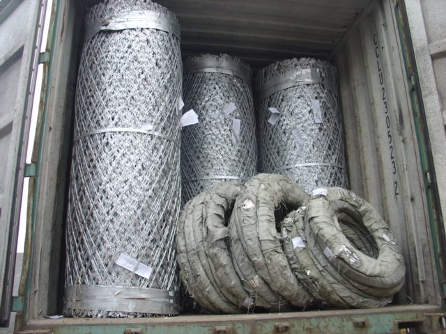 Welded Razor Wire Mesh——the Beautiful Iron Veil