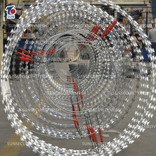 Smart Electric Razor Wire Coil