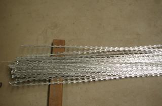 Straight Razor Wire is easy and quick installation