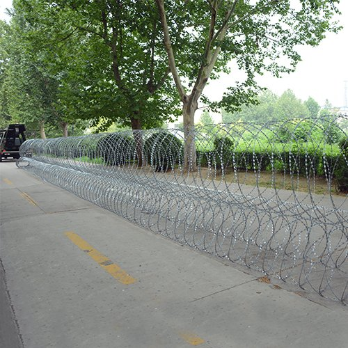 Razor Wire Security Barrier System