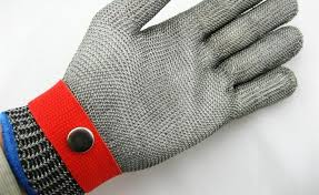 Stainless Steel Mesh Safety Gloves