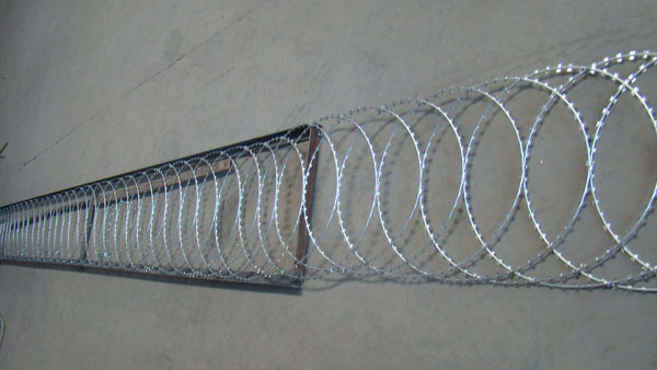 "Flat Wrapped Razor Wire ——""Less Money, Higher Quality"""