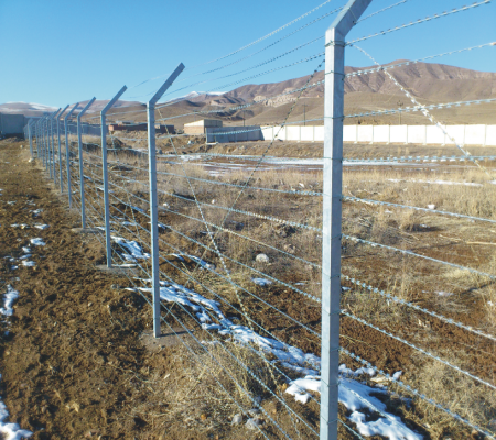 High Security Razor Flat Fence