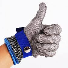 Stainless Steel Mesh Safety Gloves- the Poison Can not Invade
