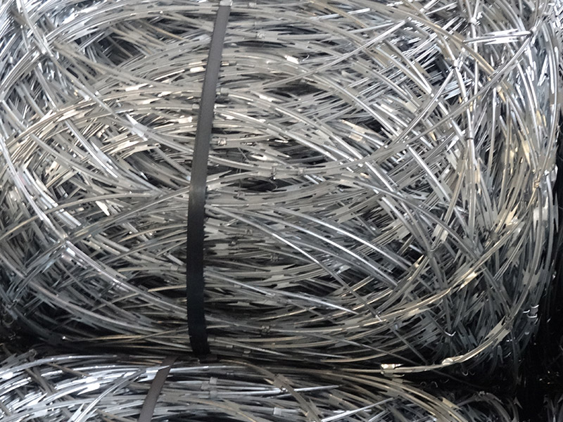 Razor wire--produce for you need