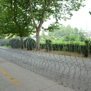 triple strand concertina razor wire